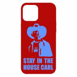 Чехол для iPhone 12 Pro Max Stay in the house Carl