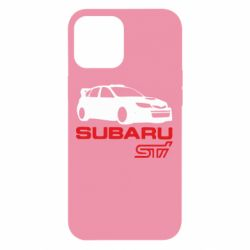 Чехол для iPhone 12 Pro Max Subaru STI