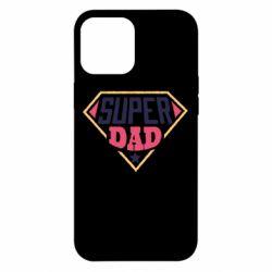 Чехол для iPhone 12 Pro Max Super dad text
