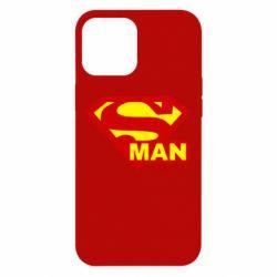 Чехол для iPhone 12 Pro Max Super Man