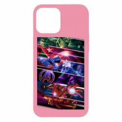 Чехол для iPhone 12 Pro Max Super power avengers