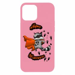 Чехол для iPhone 12 Pro Max Super raccoon