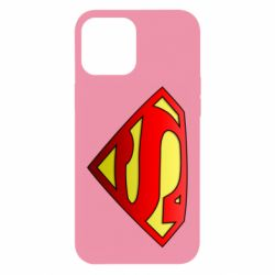 Чохол для iPhone 12 Pro Max Superman Logo