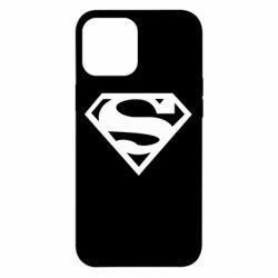 Чехол для iPhone 12 Pro Max Superman одноцветный