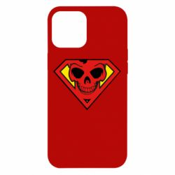 Чехол для iPhone 12 Pro Max Superman Skull