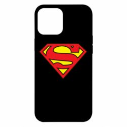 Чехол для iPhone 12 Pro Max Superman Symbol