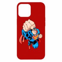 Чохол для iPhone 12 Pro Max Супермен Комікс