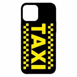 Чехол для iPhone 12 Pro Max TAXI