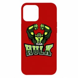 Чехол для iPhone 12 Pro Max Team hulk