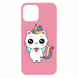 Чохол для iPhone 12 Pro Max The cat is unicorn