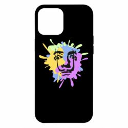 Чохол для iPhone 12 Pro Max The face of Salvador Dali on the edge