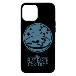 Чехол для iPhone 12 Pro Max The flat earth society