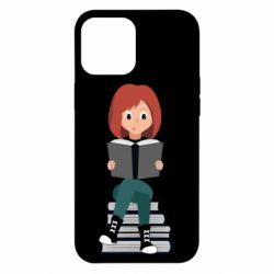 Чохол для iPhone 12 Pro Max The girl is reading