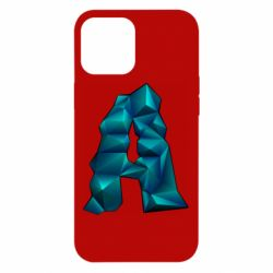 Чехол для iPhone 12 Pro Max The letter a is cubic