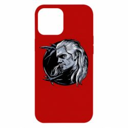 Чехол для iPhone 12 Pro Max The Witcher in profile art