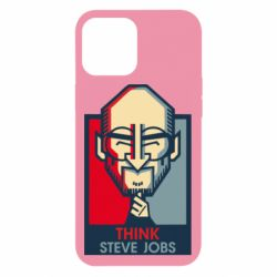 Чехол для iPhone 12 Pro Max Think Steve Jobs