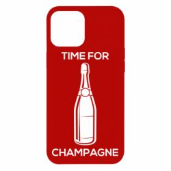 Чохол для iPhone 12 Pro Max Time for champagne