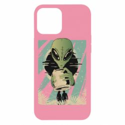 Чохол для iPhone 12 Pro Max Alien with a can