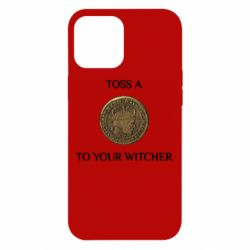Чохол для iPhone 12 Pro Max Toss a coin to your witcher ( орен )