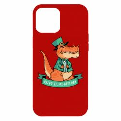 Чехол для iPhone 12 Pro Max Trex patrick day