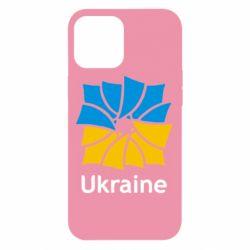 Чохол для iPhone 12 Pro Max Ukraine квадратний прапор