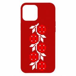 Чехол для iPhone 12 Pro Max Українська вишивка