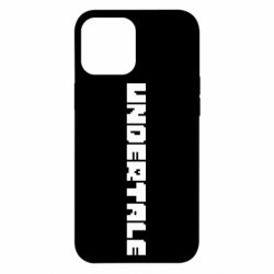 Чохол для iPhone 12 Pro Max Undertale logo