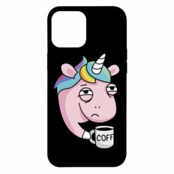 Чохол для iPhone 12 Pro Max Unicorn and coffee