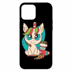 Чехол для iPhone 12 Pro Max Unicorn Christmas