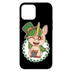 Чехол для iPhone 12 Pro Max Unicorn patrick day