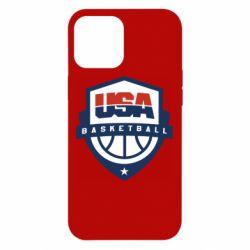 Чехол для iPhone 12 Pro Max USA basketball