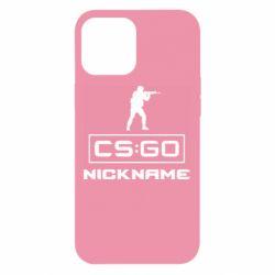 Чехол для iPhone 12 Pro Max Ваш псевдоним в игре CsGo