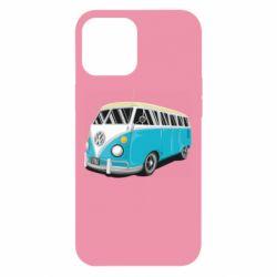 Чехол для iPhone 12 Pro Max Vector Volkswagen Bus