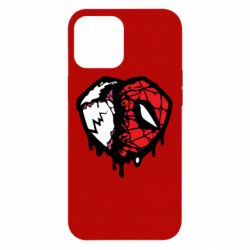 Чехол для iPhone 12 Pro Max Venom and spiderman