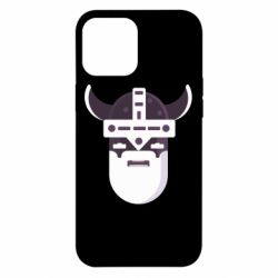 Чехол для iPhone 12 Pro Max Viking flat vector