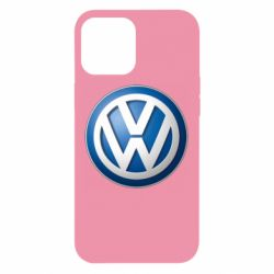 Чохол для iPhone 12 Pro Max Volkswagen 3D Logo