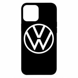 Чехол для iPhone 12 Pro Max Volkswagen new logo