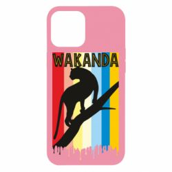 Чохол для iPhone 12 Pro Max Wakanda black panther