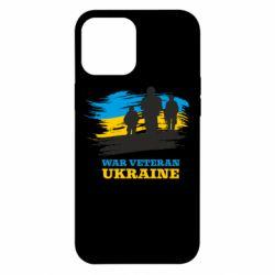 Чохол для iPhone 12 Pro Max War veteran оf Ukraine