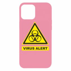 Чехол для iPhone 12 Pro Max Warning Virus alers