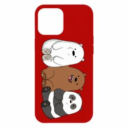Чехол для iPhone 12 Pro Max We are ordinary bears