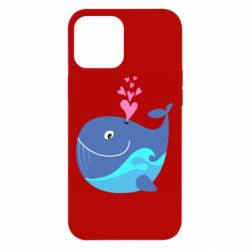 Чохол для iPhone 12 Pro Max Whale with smile