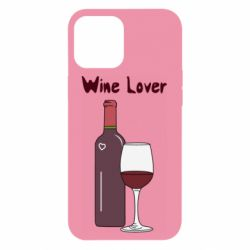 Чохол для iPhone 12 Pro Max Wine lover