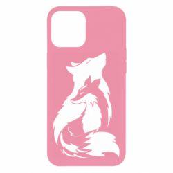 Чехол для iPhone 12 Pro Max Wolf And Fox