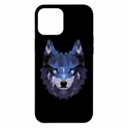 Чохол для iPhone 12 Pro Max Wolf geometric