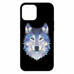 Чехол для iPhone 12 Pro Max Wolf is a vector