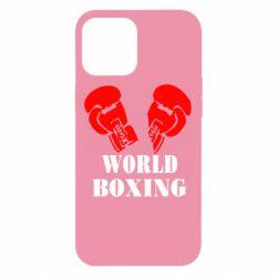 Чехол для iPhone 12 Pro Max World Boxing