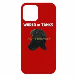 Чехол для iPhone 12 Pro Max WoT Fight bravely
