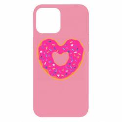 Чехол для iPhone 12 Pro Max Я люблю пончик