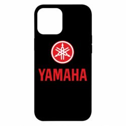 Чехол для iPhone 12 Pro Max Yamaha Logo(R+W)